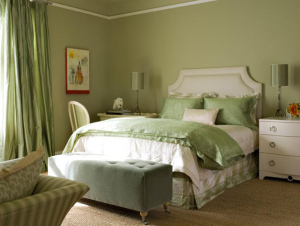 покраска стен фото в спальне