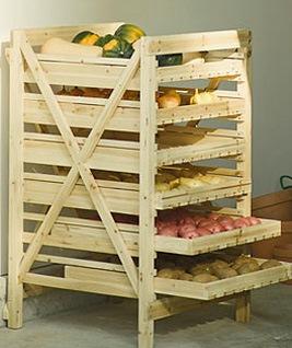 Хранение для овощей дома своими руками 34