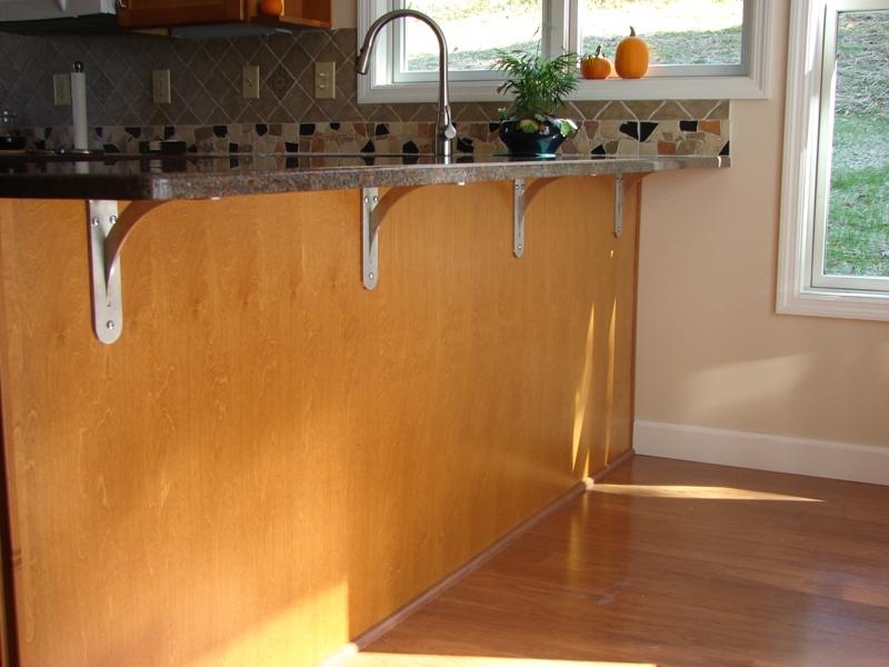 Рабочий стол на кухне своими руками 571