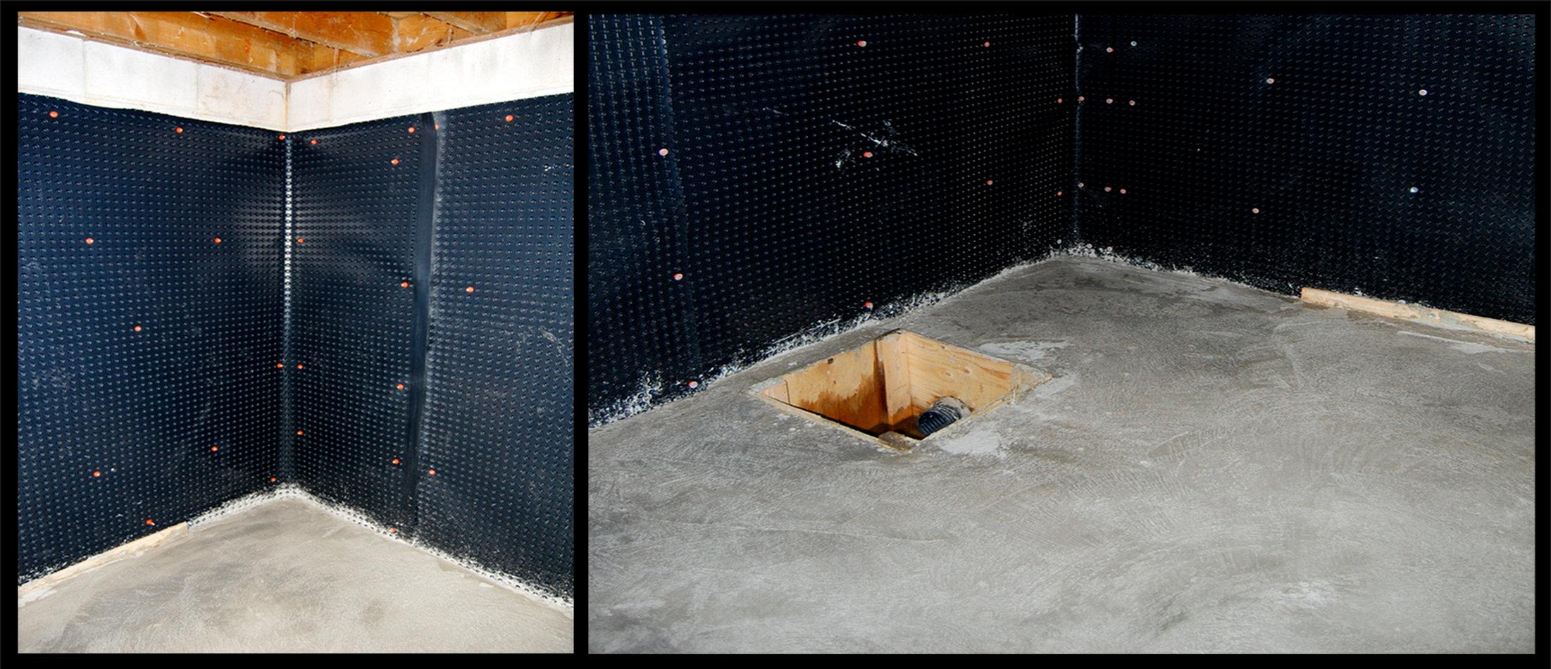 Гидроизоляция кирпичной стены изнутри битум мастика отзывы