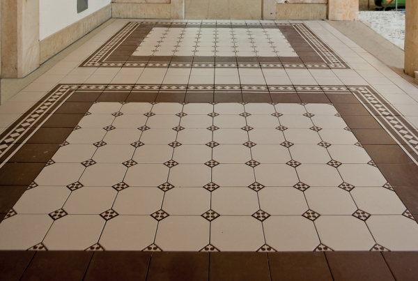 Advantages of Ceramic Tile for Living Room Floors and