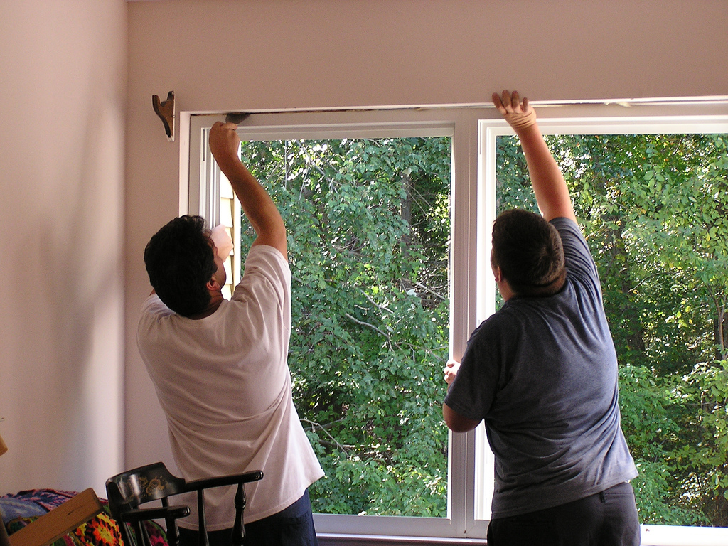 Вставляем пластиковые окна своими руками