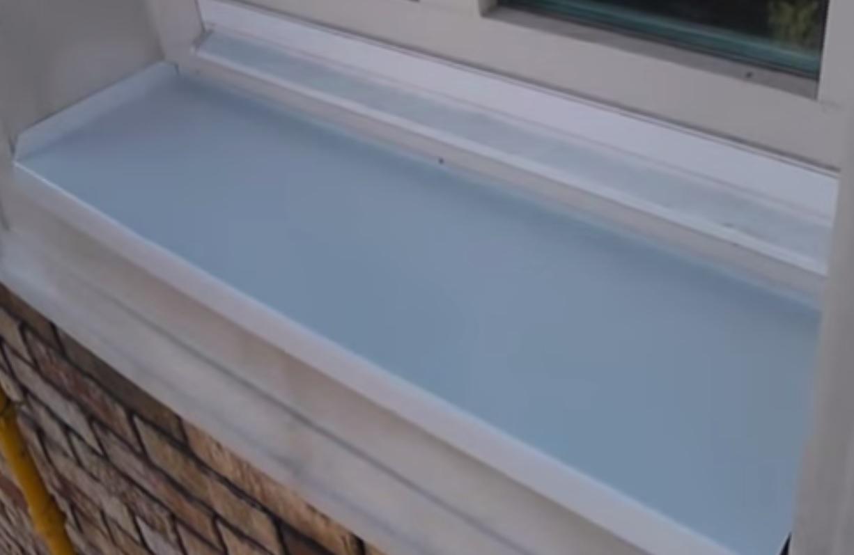 отделка пластиковых окон снаружи инструкция