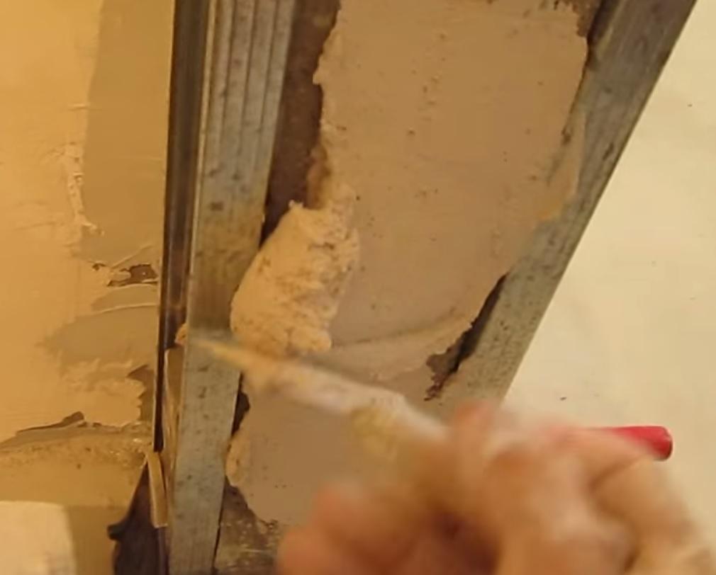 Штукатурка дверного проема своими руками 38