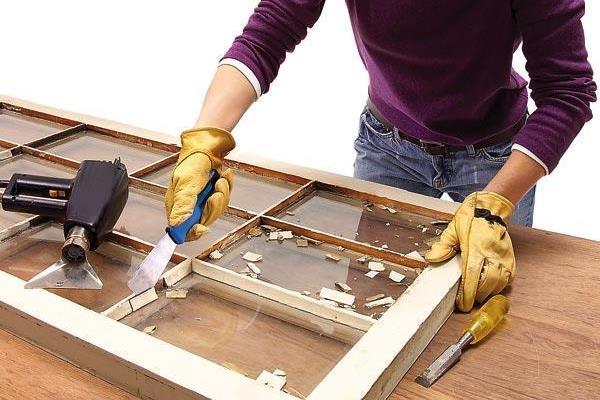 Реставрация рамы своими руками