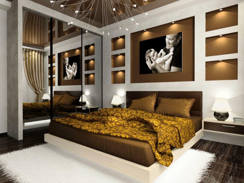 Спальня дизайн фото в коричневых тонах