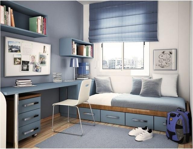 digibux schlafzimmer orange grau kleine kinderzimmer