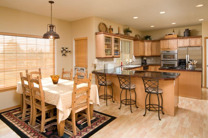 Интерьеры кухонь-столовых фото