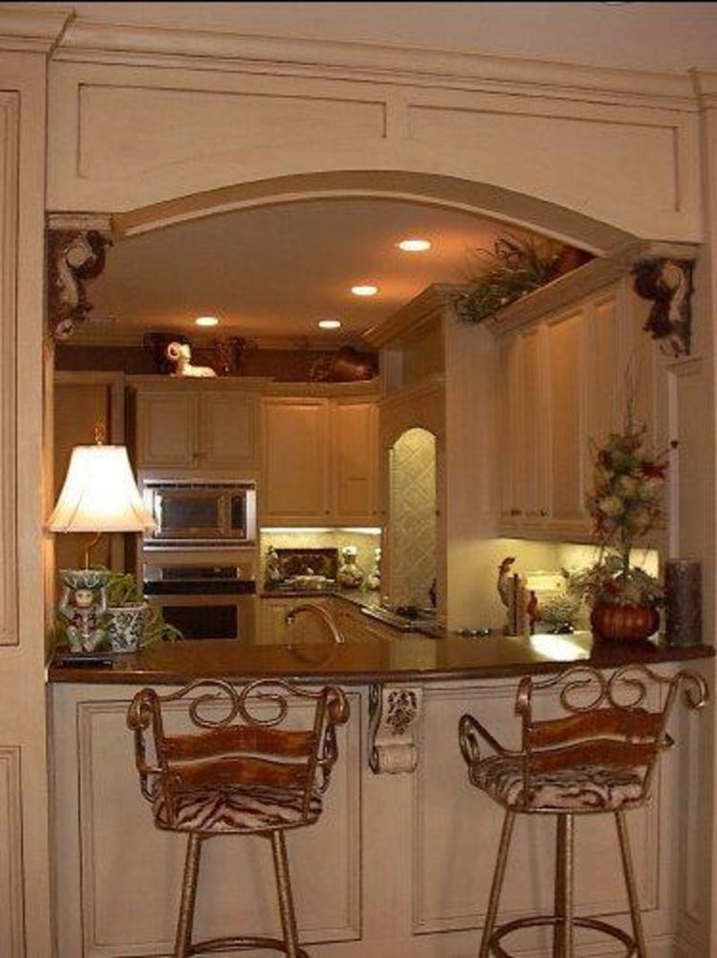 Дизайн кухни с барной стойкой - 25 фото примеров и идеи инте.
