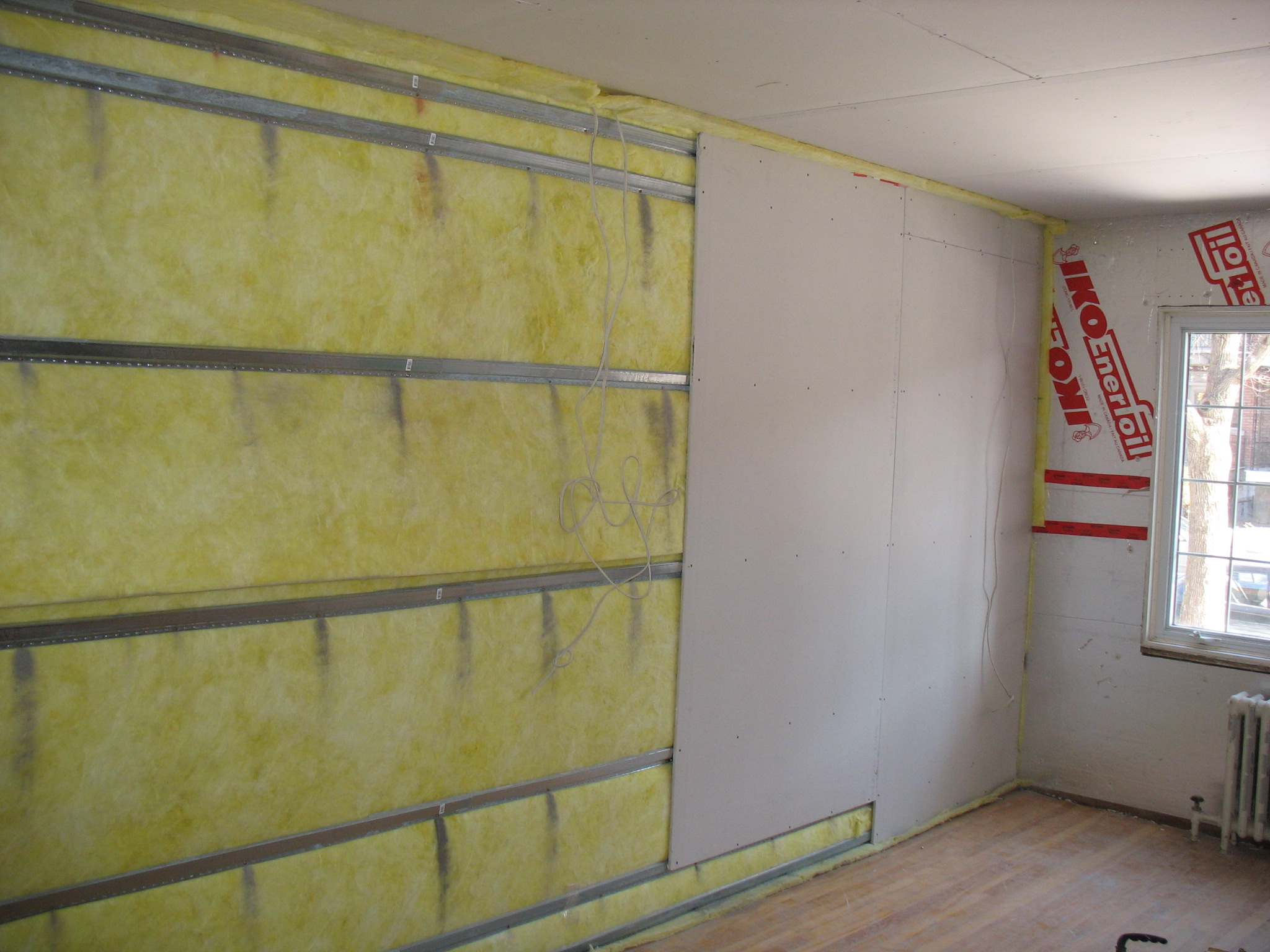 Как сделать шумоизоляцию стен фото 866