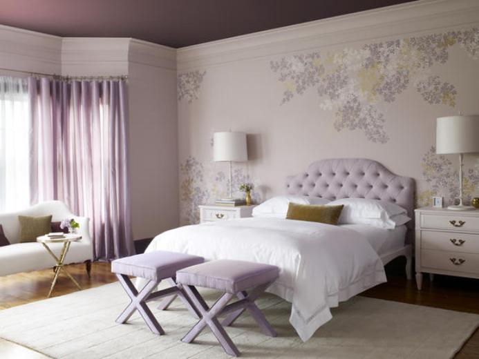 Нежная спальня - 80 фото вариантов изумительного дизайна в спальне | 520x693
